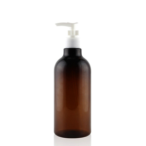 500ml PET bottle large capacity shampoo lotion plastic pump bottle
