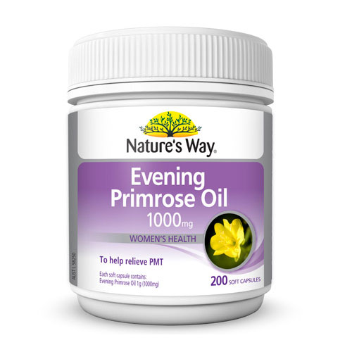 EVENING PRIMROSE OIL Natural Evening Primrose Oil Soft Capsules