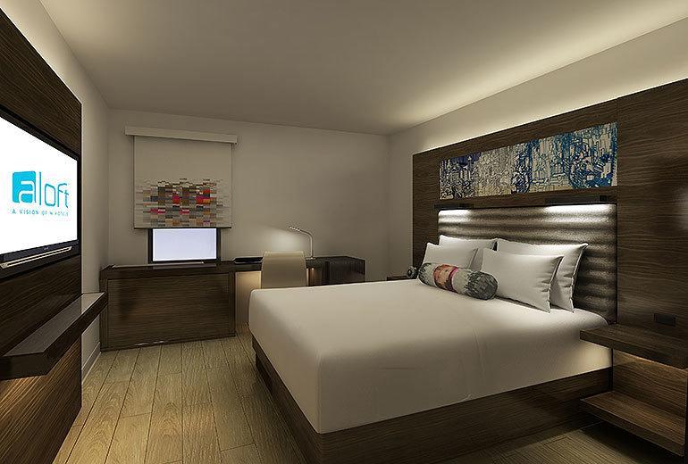 Modern hotel bedroom furniture set 3 star hotel for Hotel decor for sale
