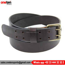 Black High Quality Customize Leather Belts- One Ten Sports Leather Belts