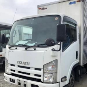 Good conditioned used ISUZU ELF Aluminum Van Truck