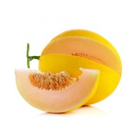 CANARY YELLOW MELON WITH GOLDEN SKIN HONEY DEW