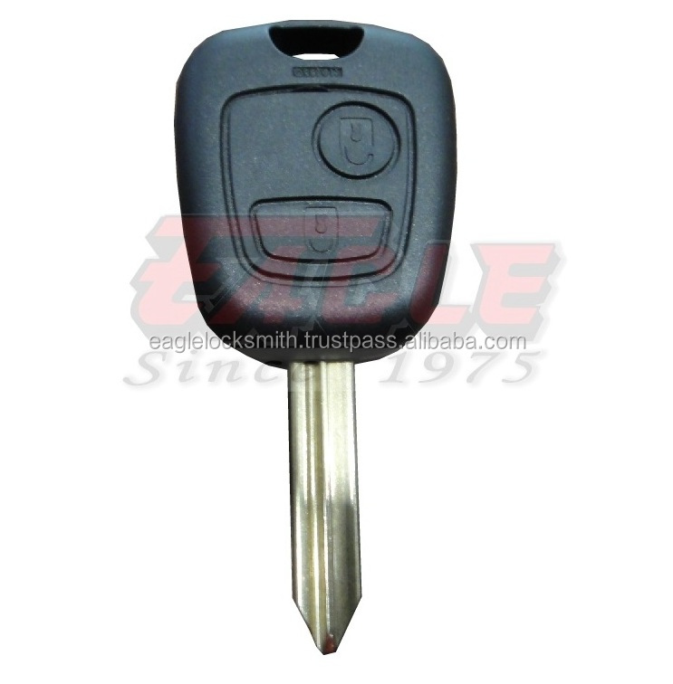 New Remote Key Fob 2Button 433MHz Electronic ID46 for Citroen Berlingo Uncut SX9