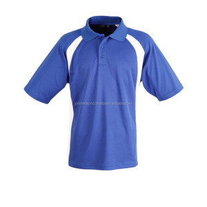 Comfortable Sport Wear For Men Quick Dry Custom Logo Polo T Shirt With Panels