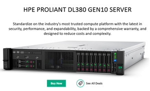 Hpe Proliant Dl380 Gen10 Server-Hpe Proliant Dl380 Gen10