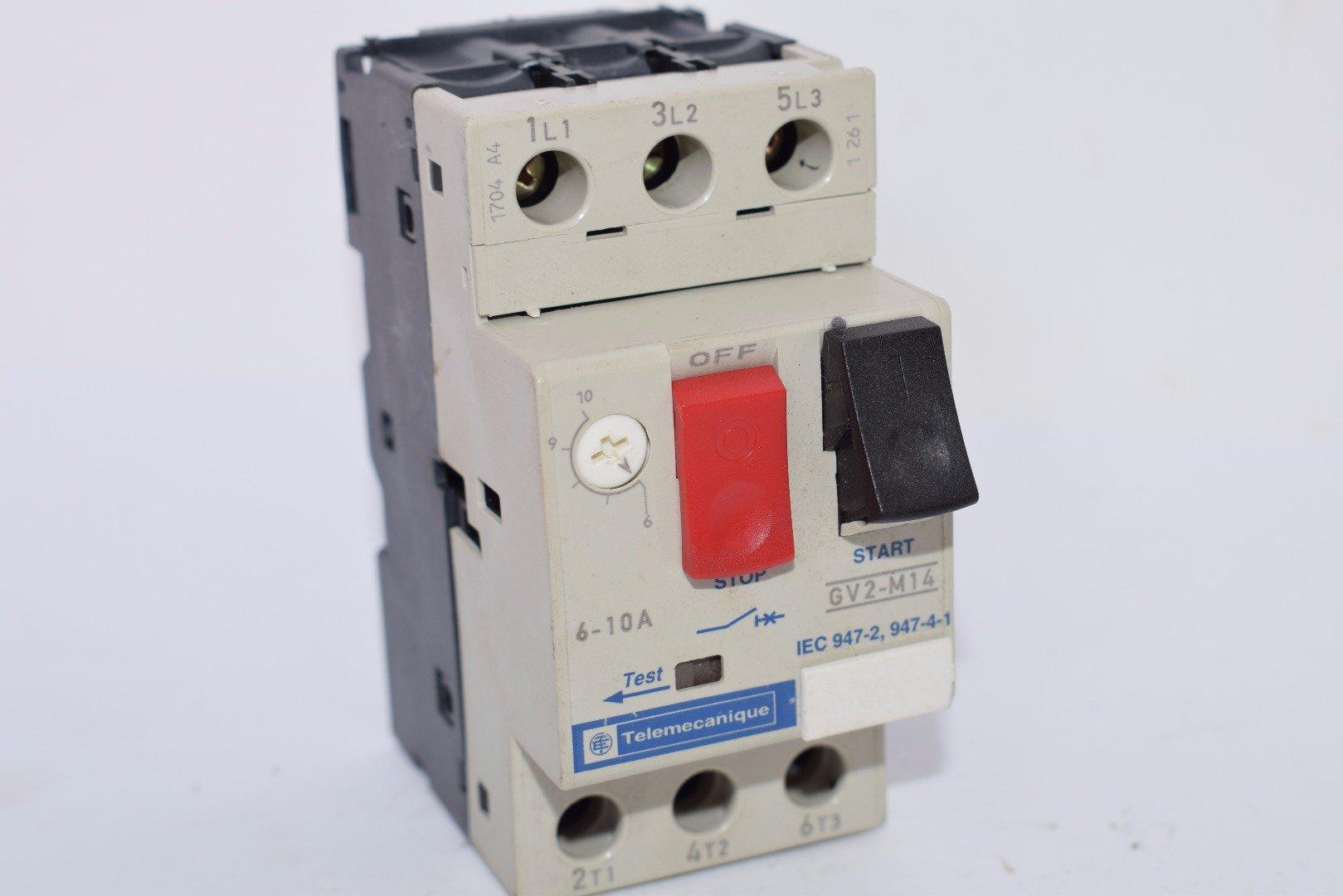 Telemecanique GV2-P08H7 Motor Starter 2.5-4A