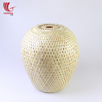 Traditional bamboo lamp shade wholesale, bamboo pendant light chandelier