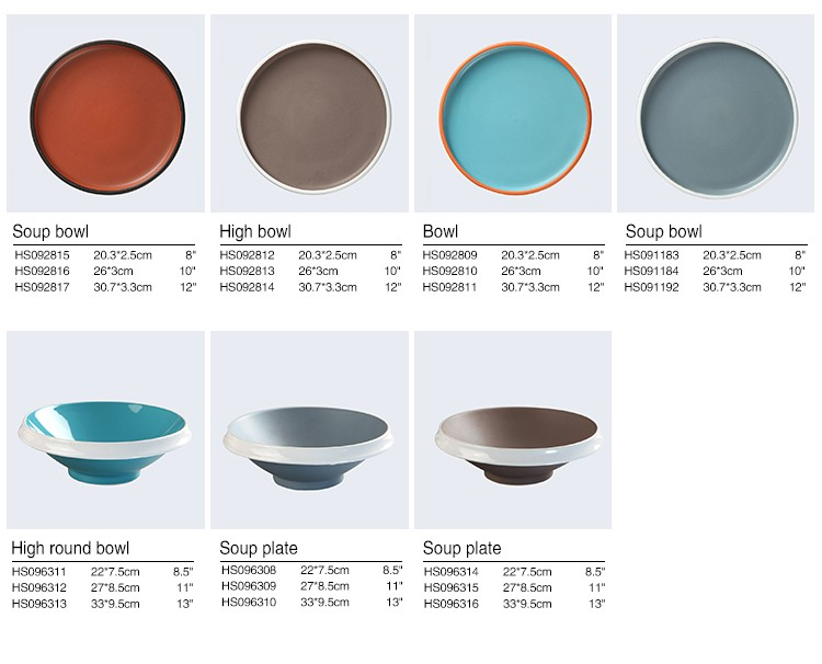 product-Two Eight-Top Seller Color Glazed Porcelain Dinner Set,Colorful Plates Ceramic Tableware, Bl-2