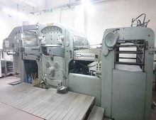 Automatic Die Cutting Bobst SP 1260 EGC Machine for sale
