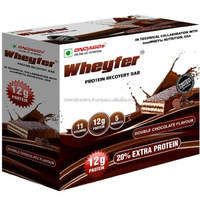 Wheyfer Protein Recovery Bar, 6 Piece(s)/Pack Double Chocolate