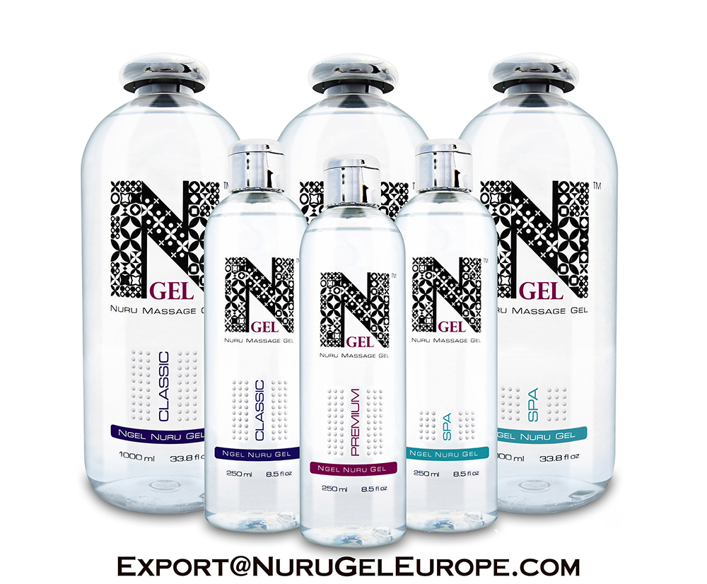 NURU MASSAGE GEL - NGEL SPA 250ml