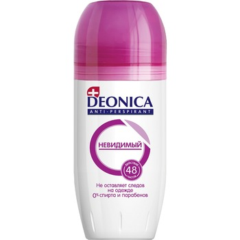 Deonica Roll-on Antiperspirant Invisible