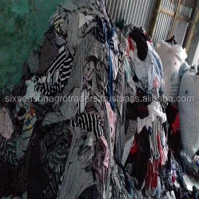 100% denim cloth Garments waste/textile waste/ Cotton rugs