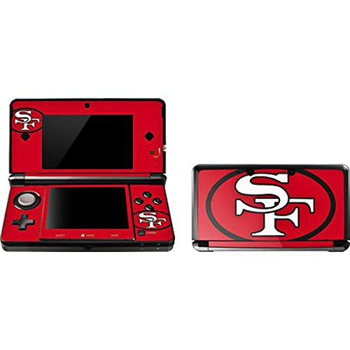 NFL San Francisco 49ers 3DS Skin - San Francisco 49ers Retro Logo Vinyl Decal Skin For Your 3DS