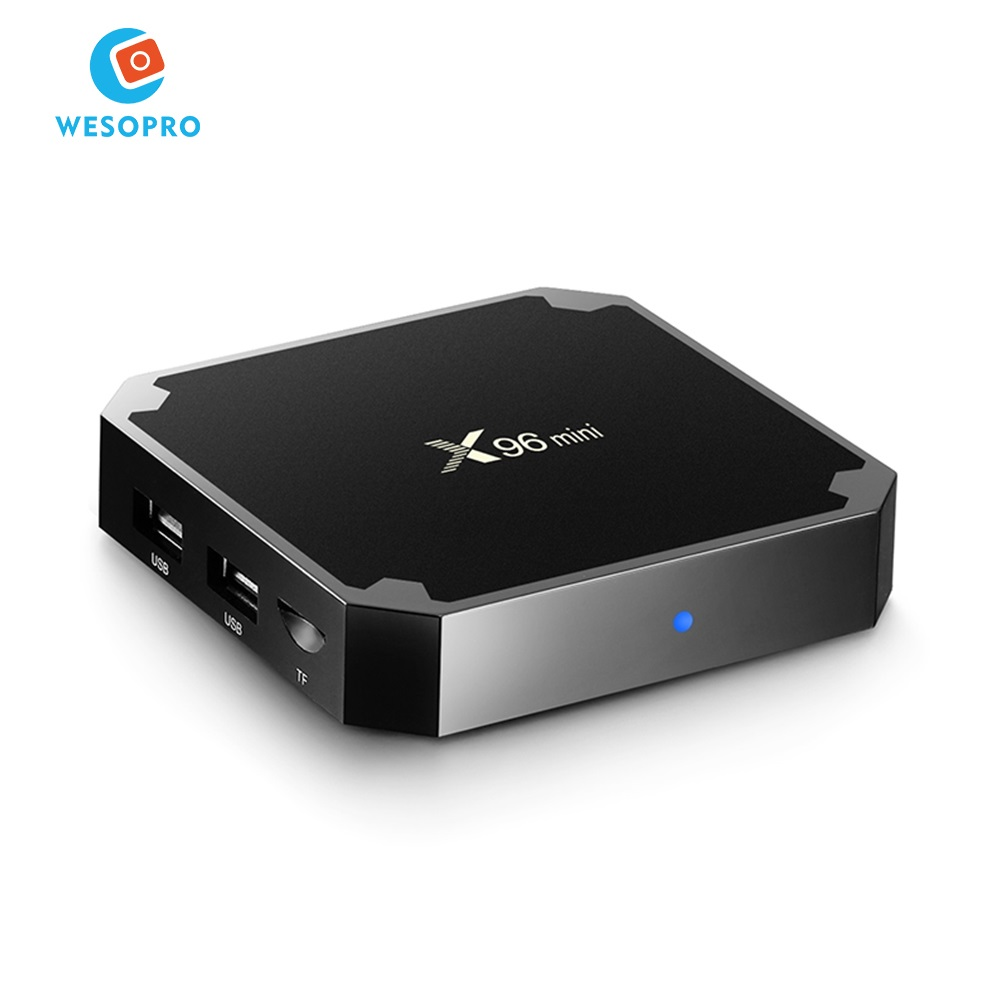 OEM & ODM X96 mini Android 7.1 TV Box IPTV Arabisch Frans Italië Spanje Brazilië channel Android TV box met amlogic S905W processor