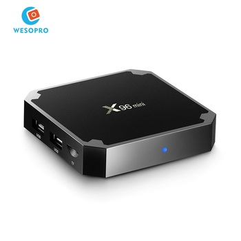 OEM&ODM X96 mini Android 7.1 TV Box IPTV Arabic French Italy Spain Brazil channel Android TV box with amlogic S905W processor