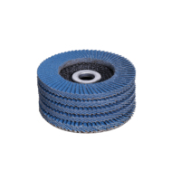high quality flap disc with Zirconia alumina for high carbon steel and stainless steel grinding