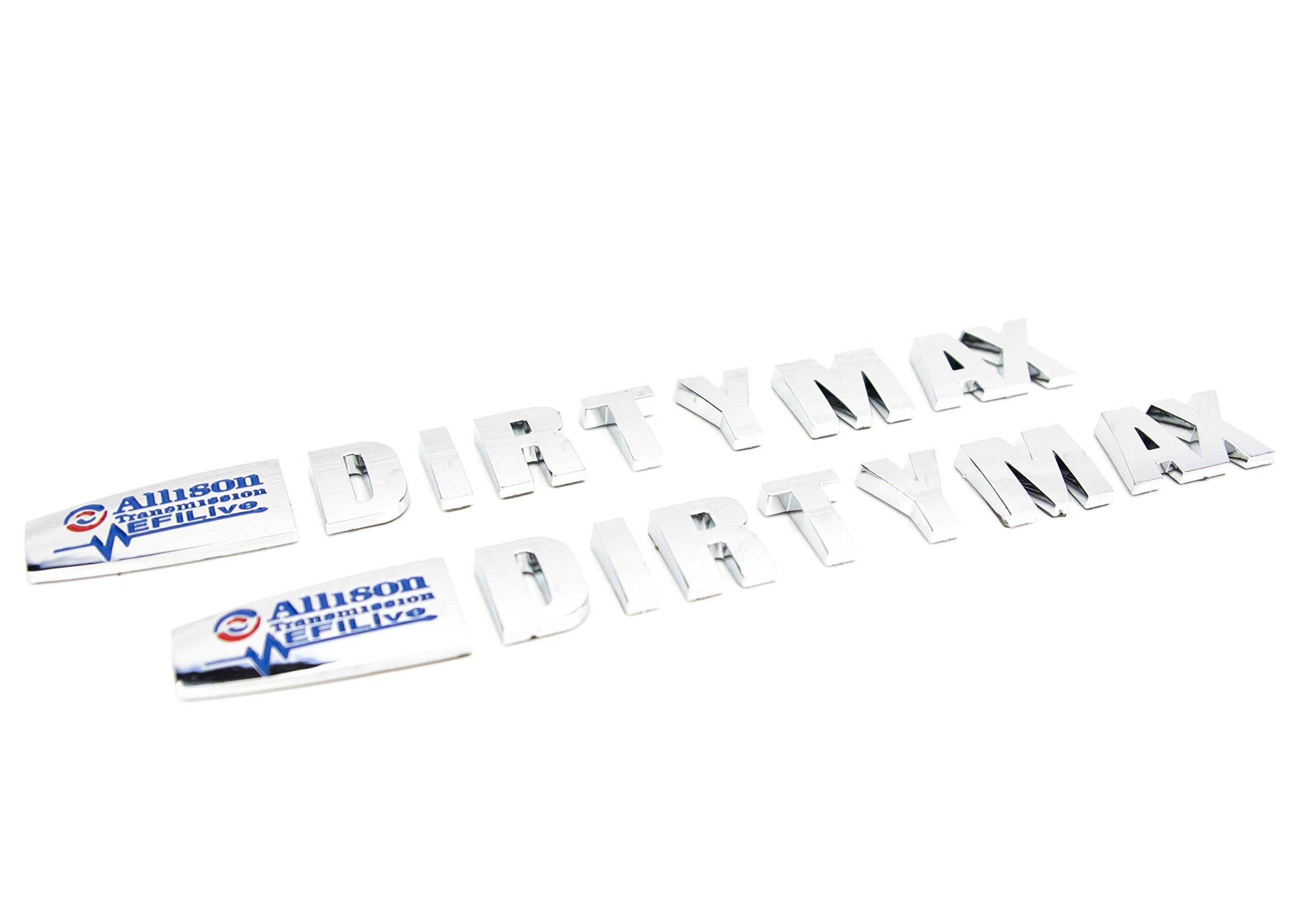 1 New Duramax Diesel Allison EFI Live LML 14-16 Style Truck Key Chain Badge