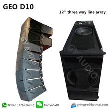 GEO D10 Dsub 12 inch Three-Way Line Array
