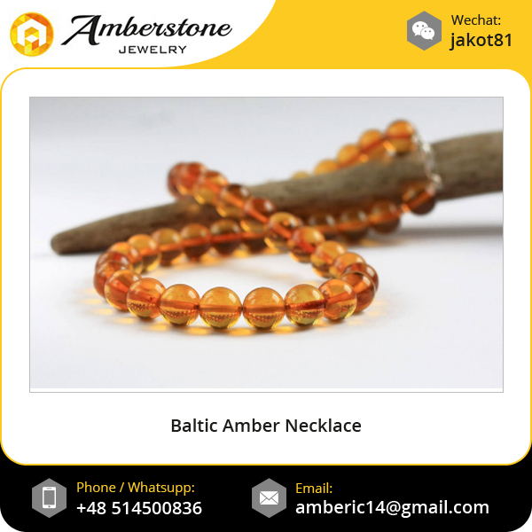 Certified Natural Baltic Amber Baby Teething Necklace For Infant Child Baby Chew Necklace