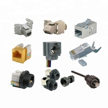 AMP TYCO 10 pin <span class=keywords><strong>RJ45</strong></span> konnektörü ile trafo <span class=keywords><strong>RJ45</strong></span> jack priz ve CAT5E CAT6 <span class=keywords><strong>CAT7</strong></span> keystone jack