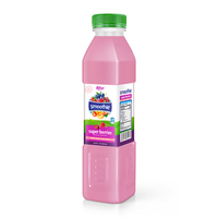 500ml Bottle Cherry Raspberry Smoothie Juice Drink