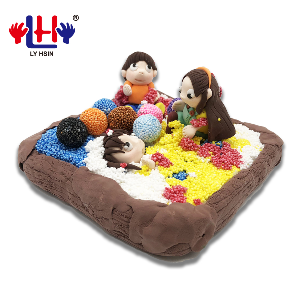 Plasticine Toy Air Dry Fluffy Foam Clay For DIY