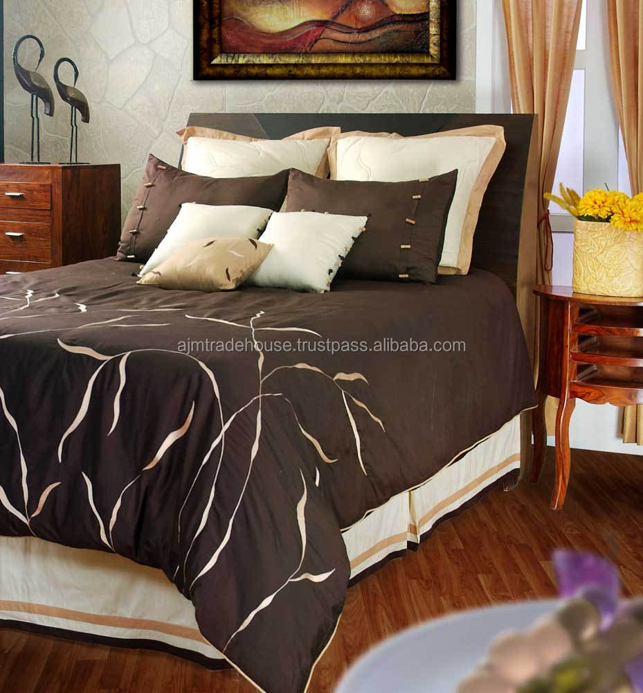 Latest Newest Beautiful Design Polyester 3d Digital Printed Duvet Sheets , Quilted Bed Sheet