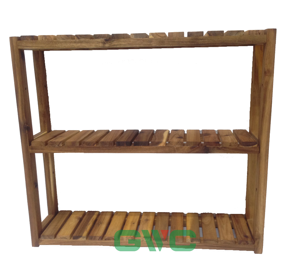 low priced 77d78 120b5 Adjustable Acacia Wood Shelving Unit 3-tier - Buy Decorative Shelving  Units,Wood Shelving Unit,Wall Shelving Unit Product on Alibaba.com