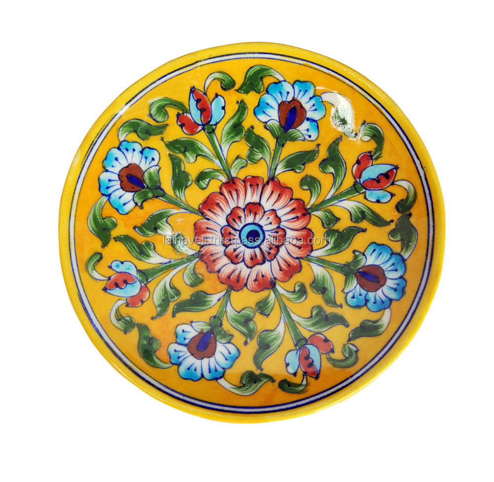 Modern Decorative Ceramic Wall Plates India Adornment - The Wall Art ...