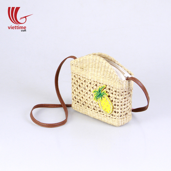 Creative Straw Beach Bag For Women With Appliques Wholesale - Buy ... da9a552d2e928
