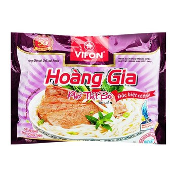 INSTANT RICE NOODLES WITH REAL MEAT 120G