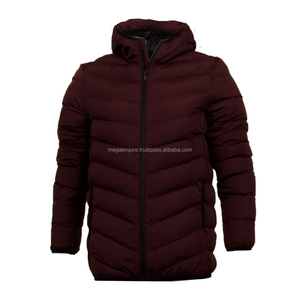 Mens Winter Apparel Fashion Padded Jacket, Puffer Jacket Men Down Garment