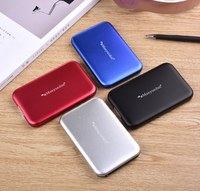 External portable Hard Disk Drive 3/2/1 TB with carry pouch and USB cable