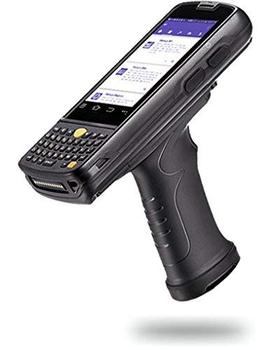 Skustack Android 5 1 Handheld Data Terminal With Keypad & Pistol Grip  4g,Gps,Wifi,Bluetooth - 1d & 2d Barcode Scanner + Cam - Buy Wireless  Barcode