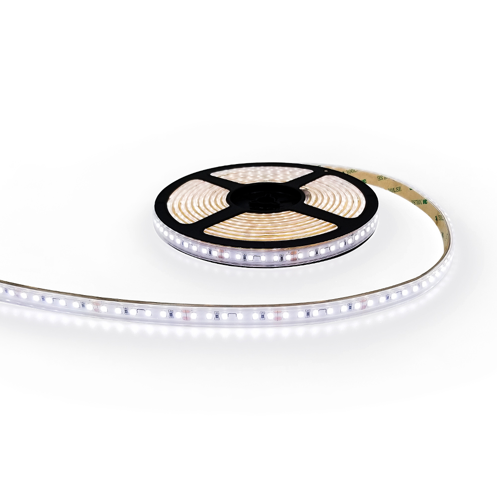 warm cold white DC 24V high cri 95 smd 2835 120 led per meter 14.4 w sequential led strip