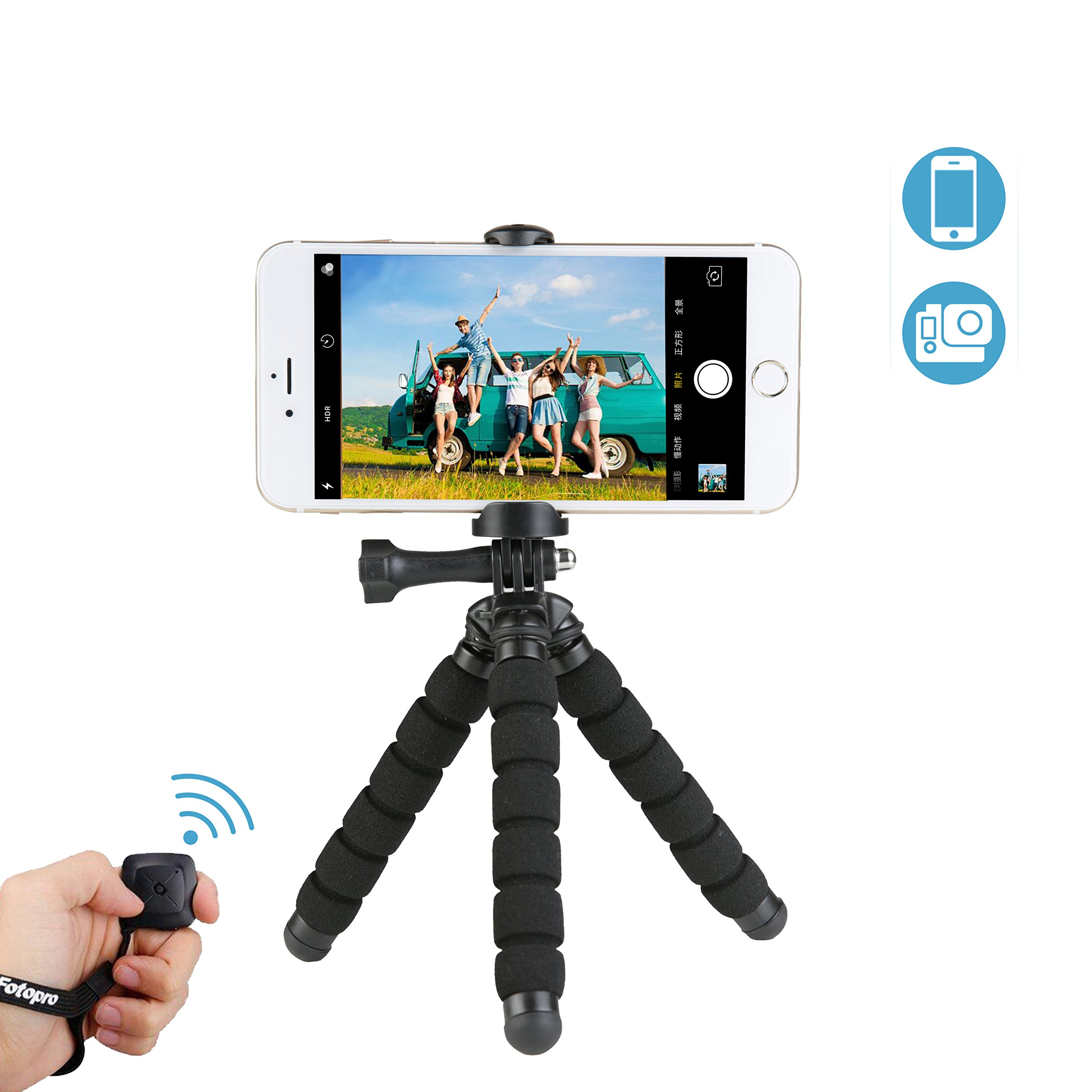 Cheap Fotopro Tripod Find Deals On Line At Alibabacom X Go Plus Get Quotations Iphone Smartphone With Bluetooth Remote Shutter For Samsung And Other