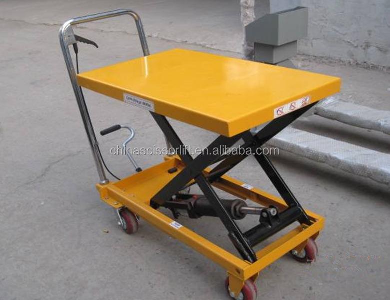 Hydraulic Lifting Trolley Diy Mini Scissor Lift Table - Buy Lifting  Trolley,Diy Scissor Lift Table,Scissor Lift Table Product on Alibaba com