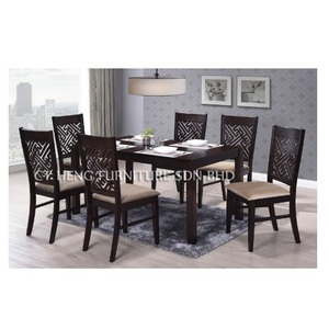 Kaizer Wooden Dining Table Set