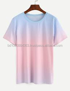 deep dye t shirt Cotton tie dye , From Bangladesh