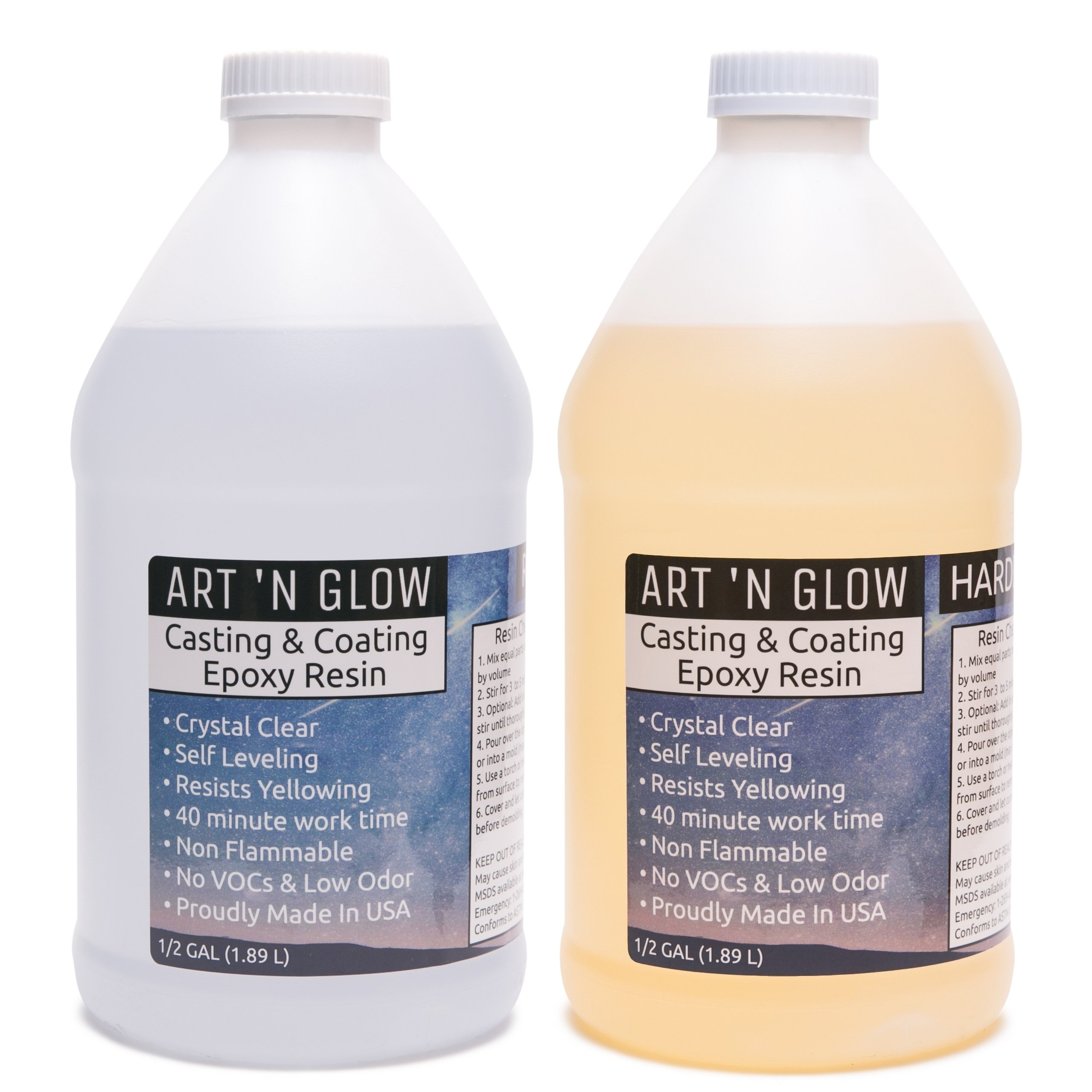 Clear Casting And Coating Epoxy Resin - 1 Gallon Kit