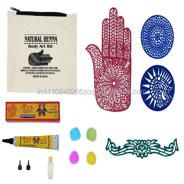 Henna Mehandi Natural Henna Body Art Kit Buy Henna Email Us At