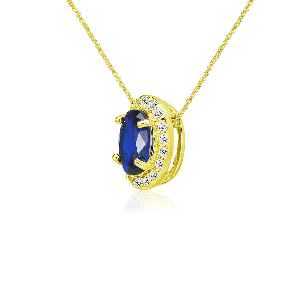 Rose /& White Gold Plated CZ Heart Cable Necklace 18 925 Sterling Silver Yellow