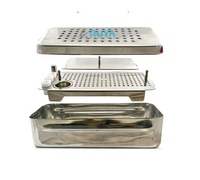 High Quality Dental Implant PRF Box & GRF Instruments Brand Box Platelet Rich Fibrin Surgery Cassette Stainless Steel CE