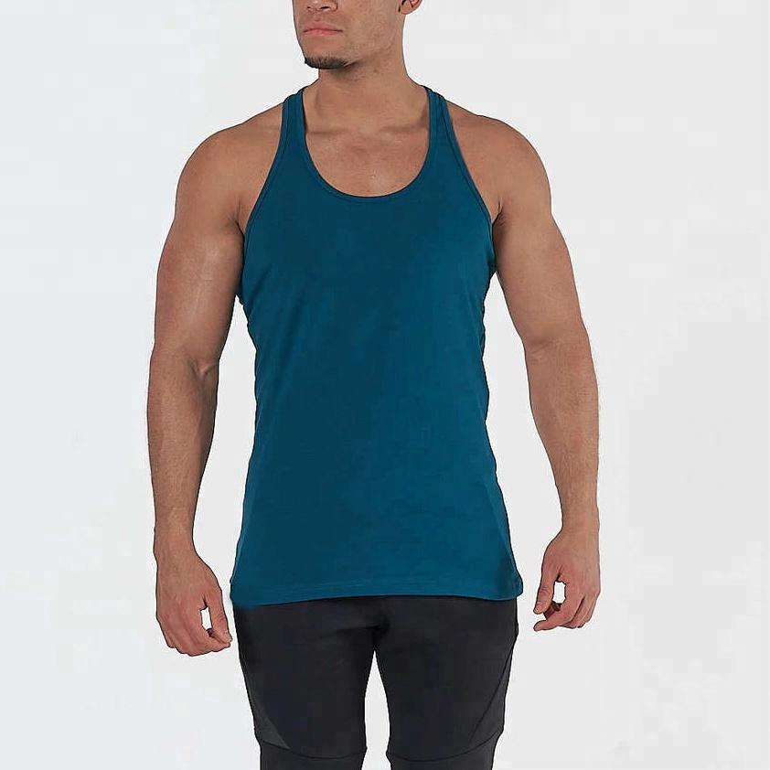 878c5ed01da36 New design for mens gym singlet 100% cotton Custom Stringer Vests  Gold gym  singlet