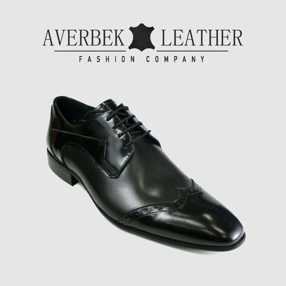 Europe Dress Leather Mens Shoes For Genuine 2018 Italian Derby Style Man Usa xqwWXBfPY