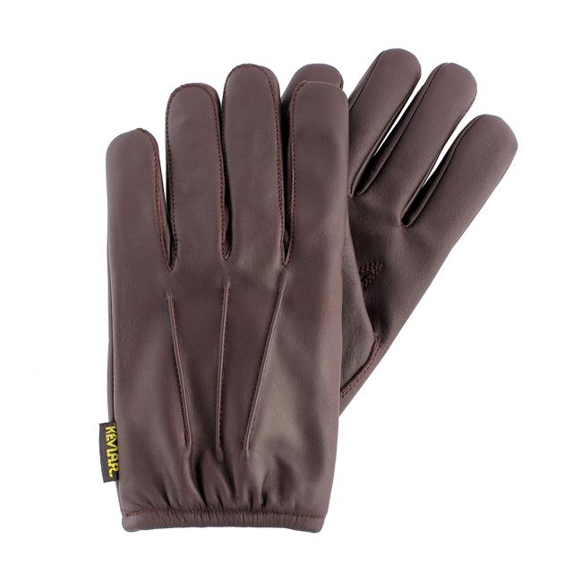 Driving Gloves Men,Autumn and Winter Warm Daily Black Leather Gloves Unlined with Touchscreen