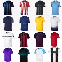 wholesale 18-19 blank custom football jersey for adults