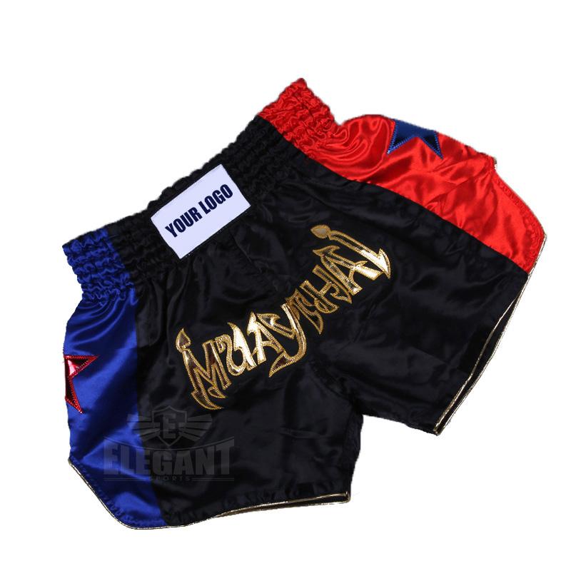 Men Women Muay Thai Fight Boxing Shorts MMA Grappling Kickboxing Fight Trunks