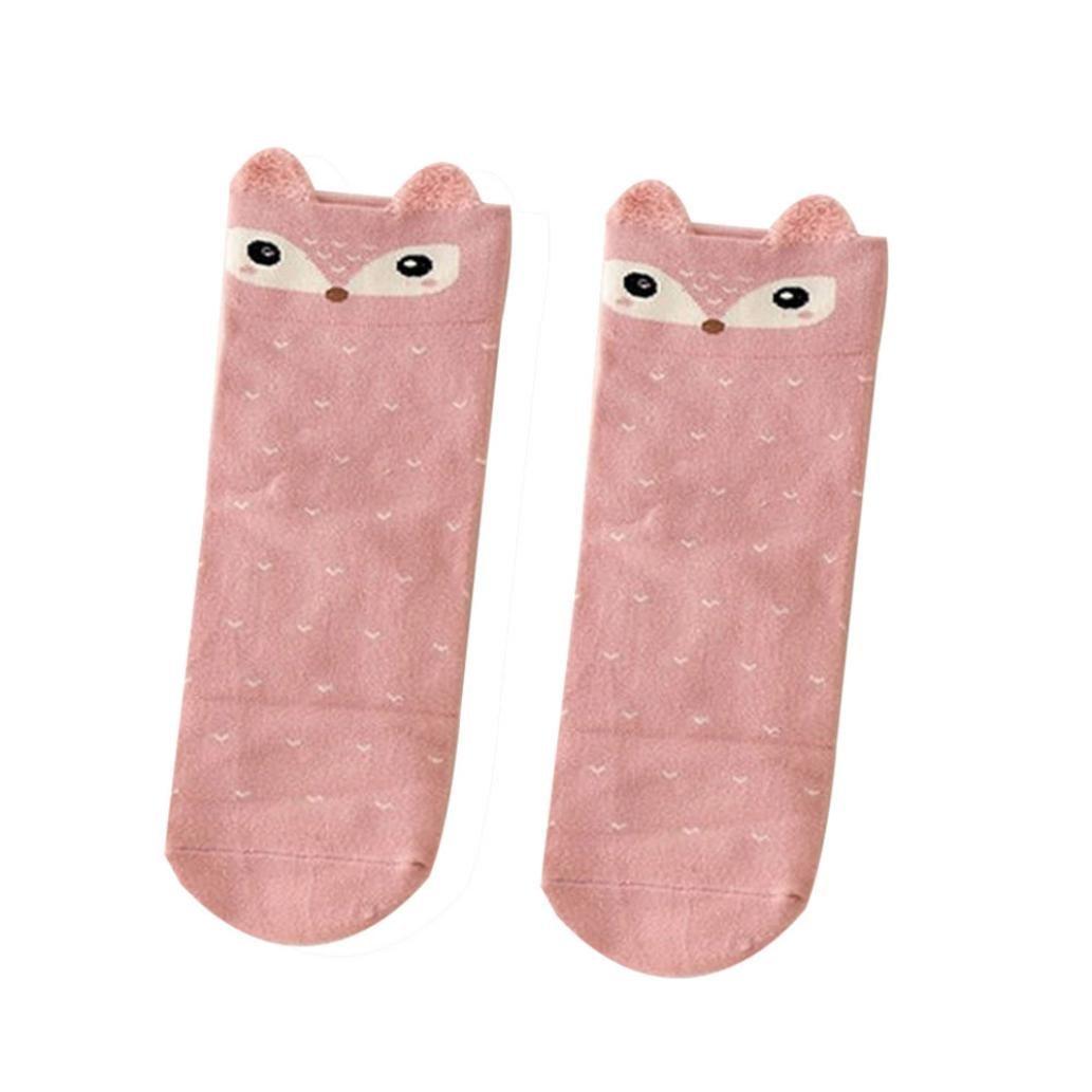 Coohole Cute Lovely Cartoon Animal Zoo Women Socks Ladies Girls Cotton Warm Soft Sock Sox